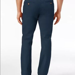 Tommy Hilfiger 34x30 Tailored Navy Blue Chino NWT!